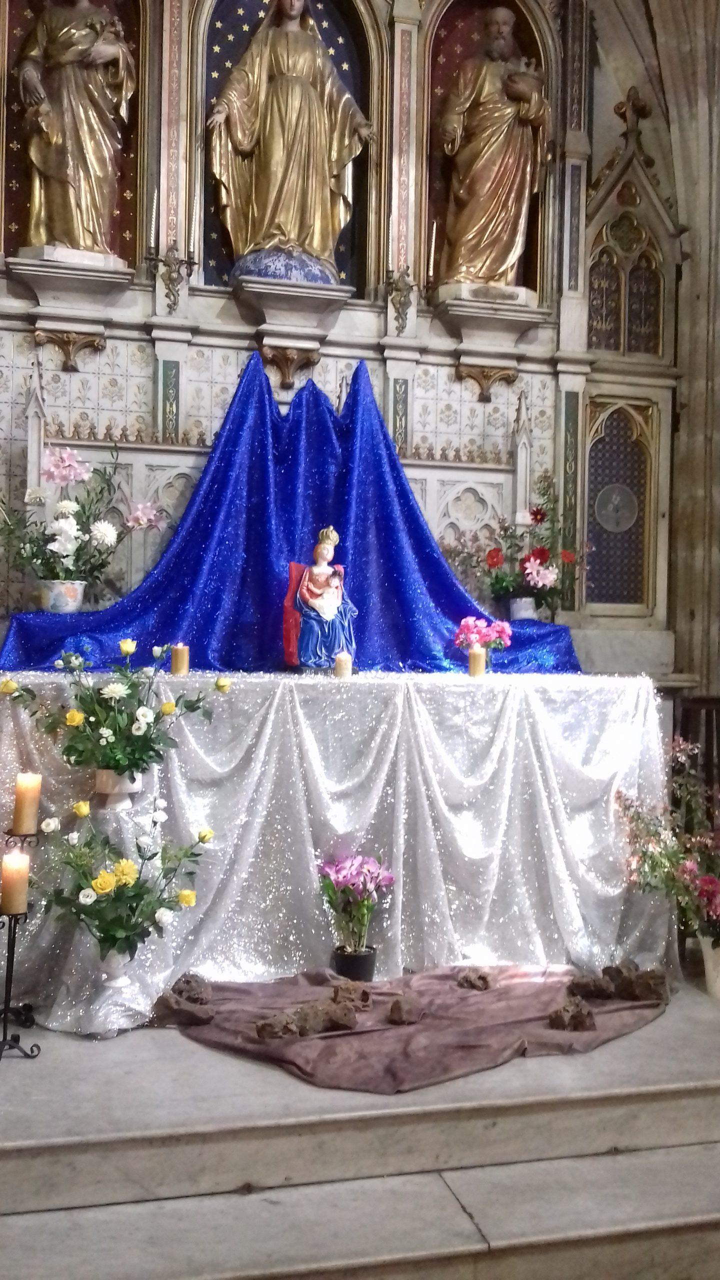 La Vierge pèlerine Notre Dame de
